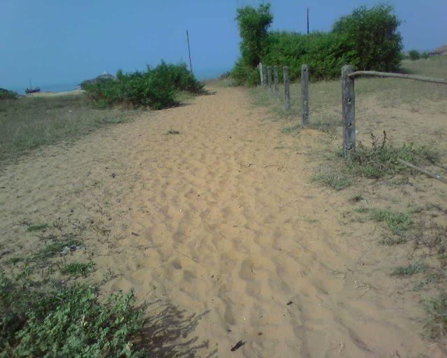 Дорожка на пляж Кандолим