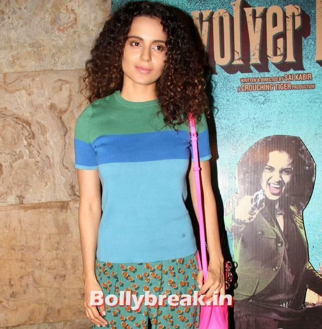 Kangana Ranaut, Kangana Ranaut at Revolver Rani Special Screening at Lightbox