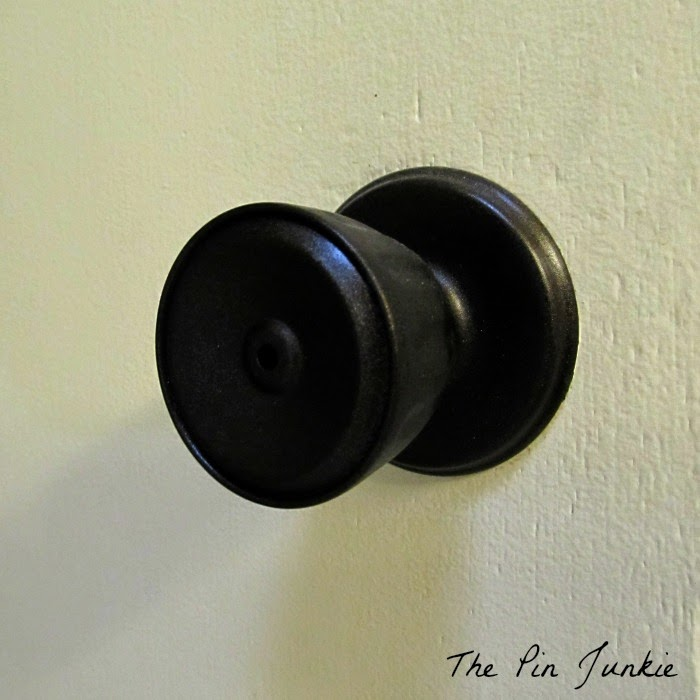 painted door knobs