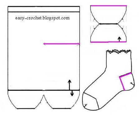 Stylish Easy Crochet Warm Socks Crochet Socks For Both Women And Men