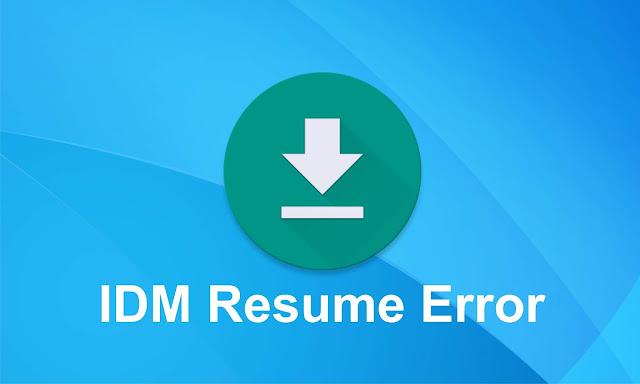 Cara Melanjutkan Download IDM Yang Terputus, Error Atau Tidak Bisa Di Resume