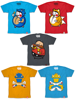 Sonic the Hedgehog x Johnny Cupcakes T-Shirt Collection