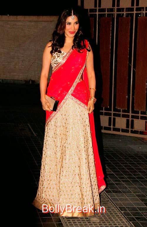 Sophie Choudry, Soha Ali Khan Kunal Khemu wedding receptionPhoto gallery album
