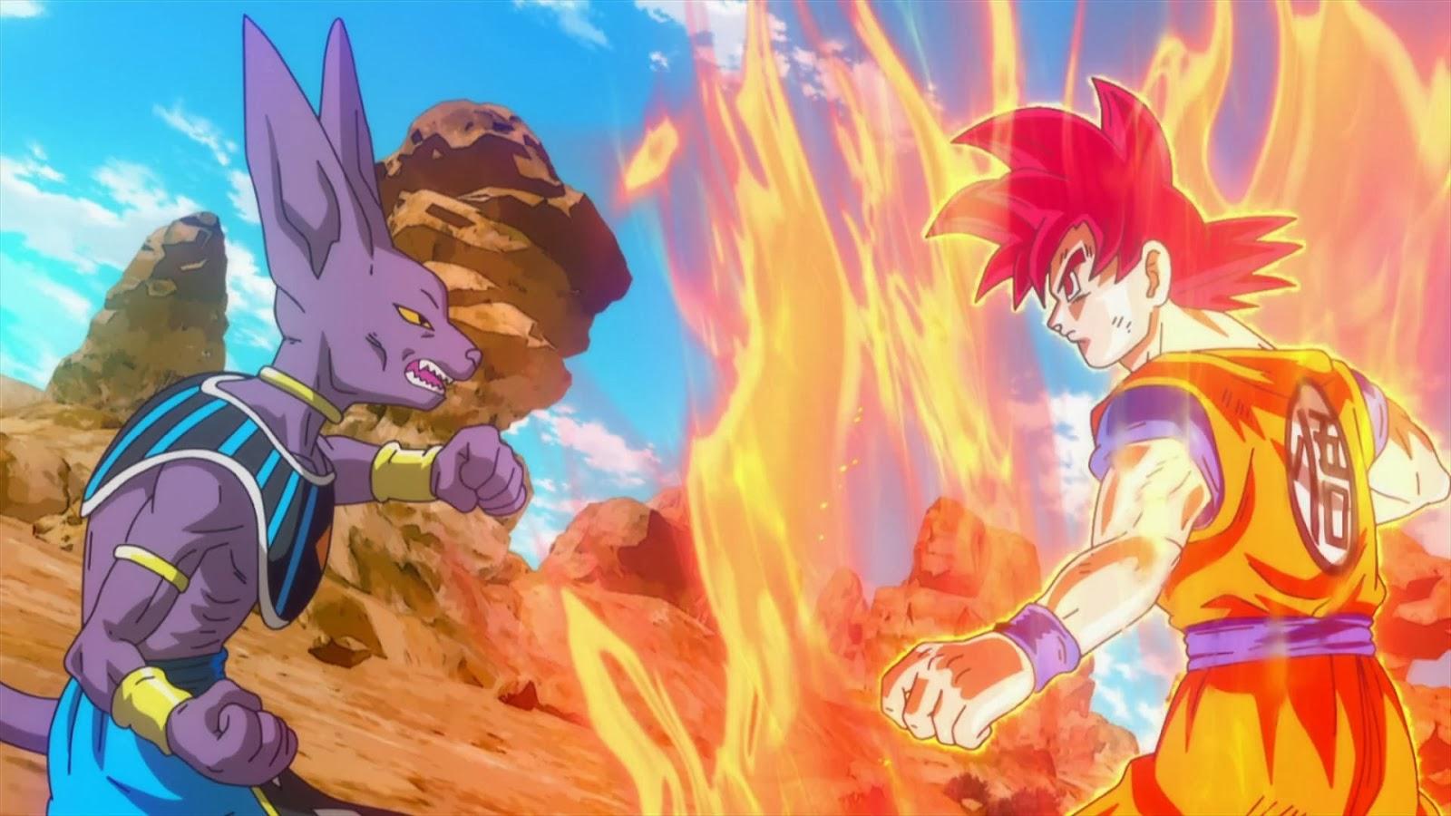 Dragon Ball Z Goku Versus Bills