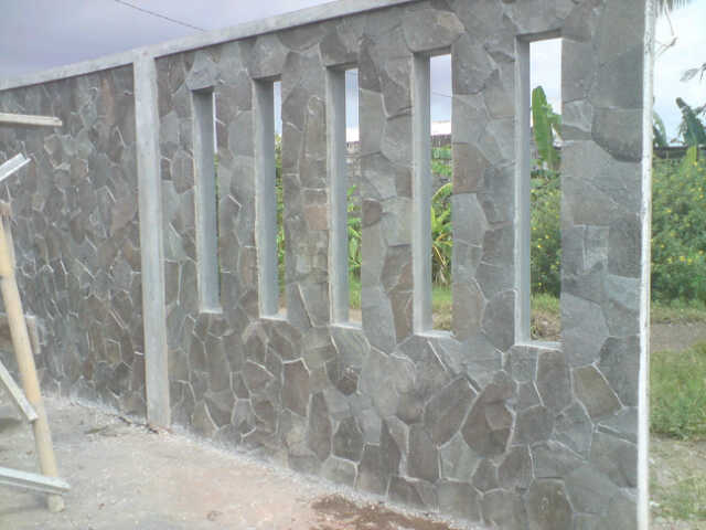 Cantiknya Aplikasi Batu Alam Pada Rumah