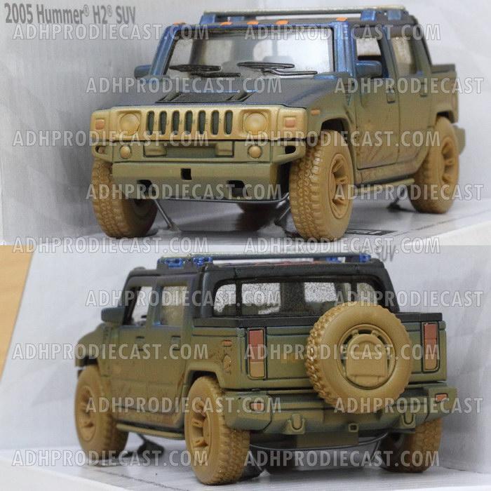 Miniatur Hummer H2 SUT DIRT (Blue)