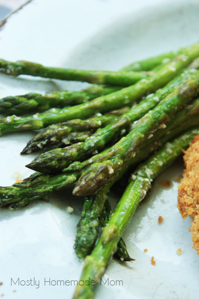 Recipe for Roasted Asparagus