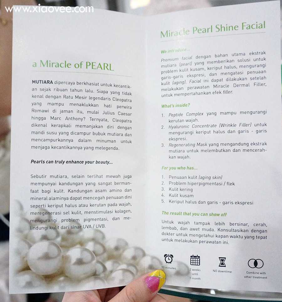 Miracle Pearl Shine Facial