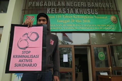 """Aksi Solidaritas """"Stop Kriminalisasi Aktifis Sukoharjo"""""""