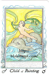 Tarot Thrones | William Blake Tarot - Ed Buryn