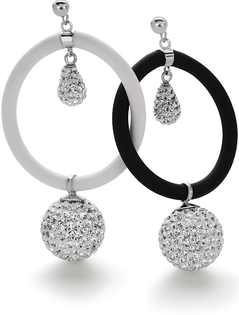 Tanya Rossi 'Silli is Sexy' Collection Silicon and Sterling Silver Earrings