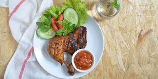 Resep Ayam Bakar Kecap Pedas Manis