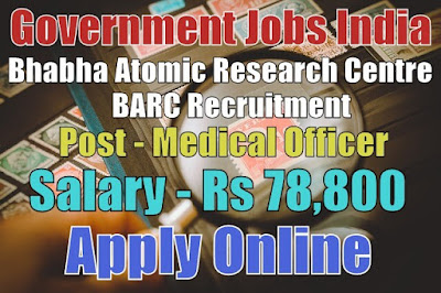 Bhabha Atomic Research Centre BARC Recruitment 2017