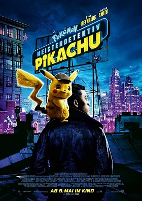 Pokémon Detective Pikachu 2019 Dual Audio Hindi HDCAM 720p Full Movie Download