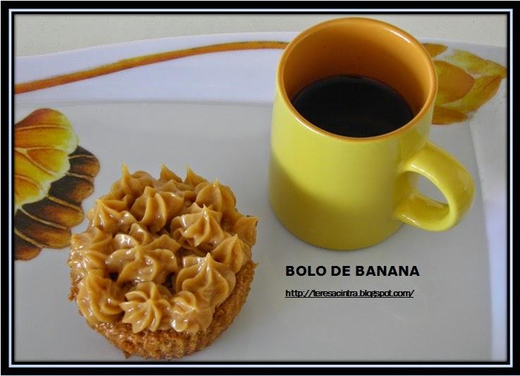 BANANA; bolo de fruta; sobremesa com banana; receita de liquidificador