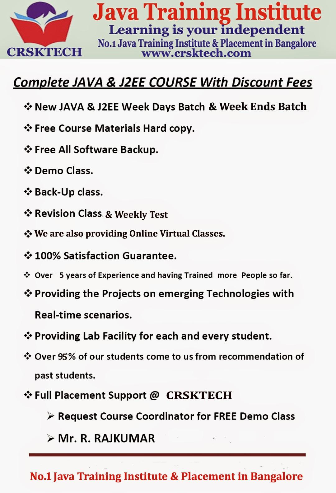 Online Course Complete Java J2ee Programming