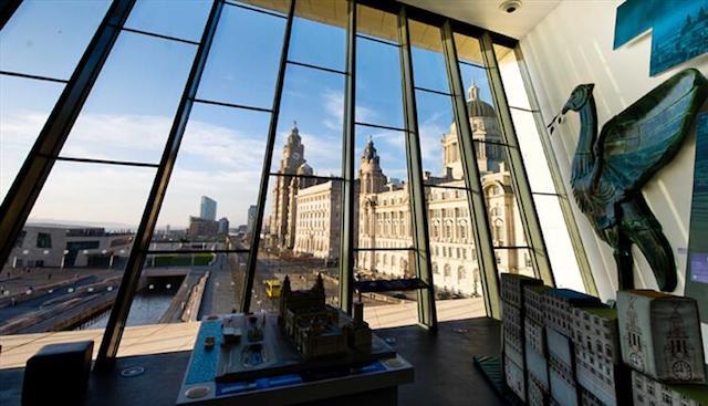 Interior Museu de Liverpool