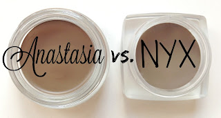 Anastasia Beverly Hills vs. NYX brow pomade