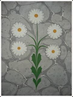 Elişi Ebru Sanatı Örnekleri 8