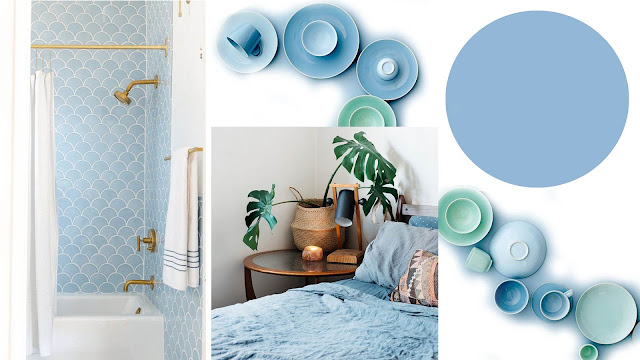 color pantone otoño airy blue
