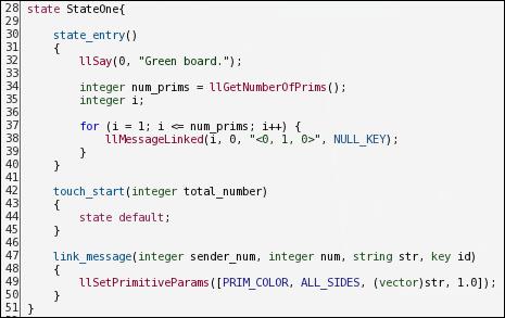 Client Server Development: Second Life - The Linden Scripting