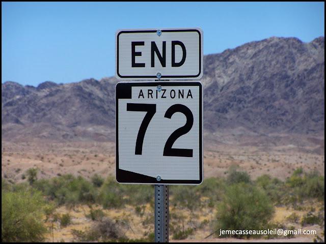 Fin de la route 72