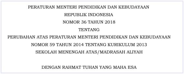Berdasarkan Pertimbangan Sebagaimana Dimaksud Dalam Hal Tersebut Perlu Menetapkan Peraturan Menteri Pendidikan Dan Kebudayaan Tentang Perubahan Atas
