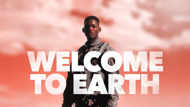 Will Smith Independence Day. Welcome to Earth.