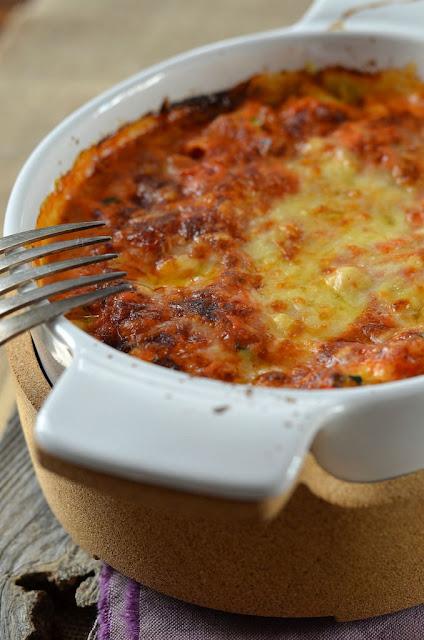 Recette Lasagnes ricotta, courgette et coulis tomate