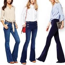 Flare Jeans Cocok Untuk Cewek Berpaha Besar