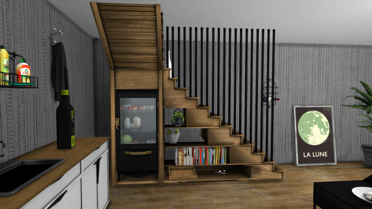 Leo S Kitchen And Stairs