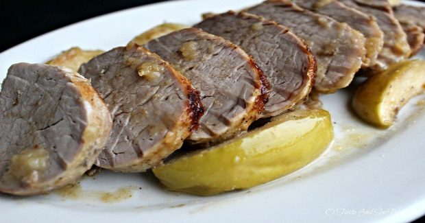 Baked Pork And Apples Recipe