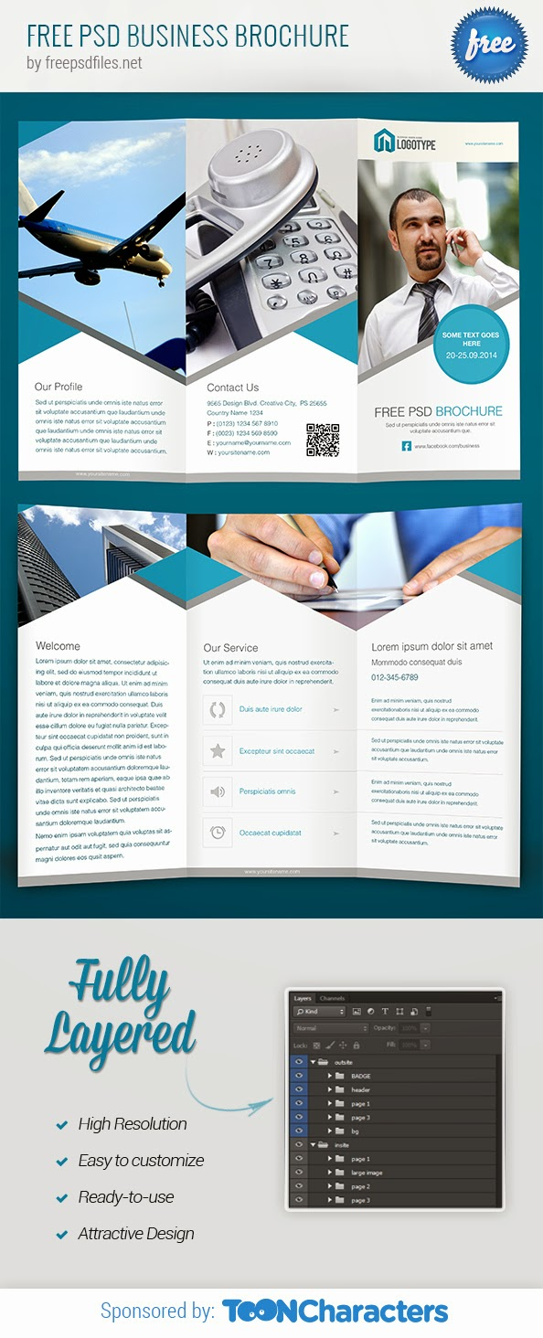 Free Business Brochure PSD