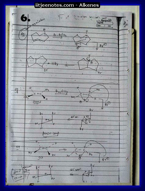 Alkenes6