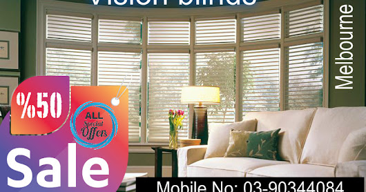 Vision Blinds and Zebra Blinds - Add style to any room