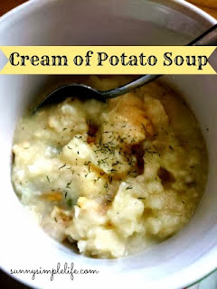 creamy soup, cream of potato soup