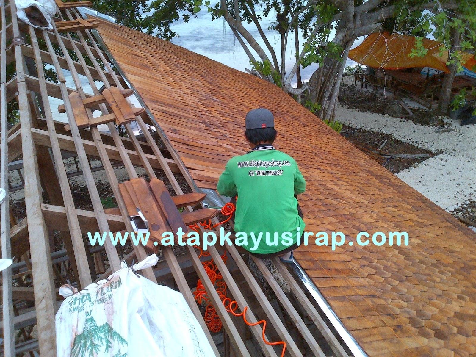 genteng kayu