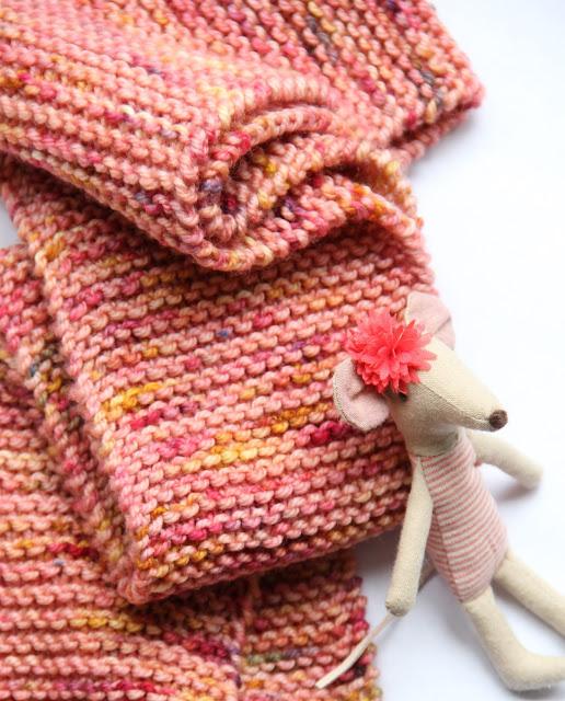 basissjaal, beginnen met breien, breien, eenvoudig, Gratis breipatronen, gratis patroon, kindersjaal, knitting, makkelijk patroon, Manos del Uruguay, sjaal, Studio Mojo,