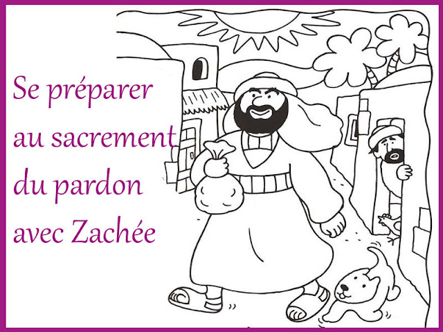Caté : Se préparer au sacrement du pardon avec le récit de Zachée