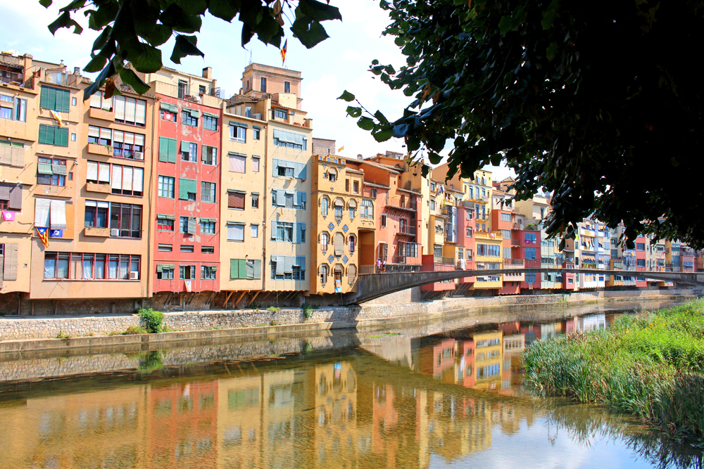 River in Girona, Spain - travel & lifestyle blog