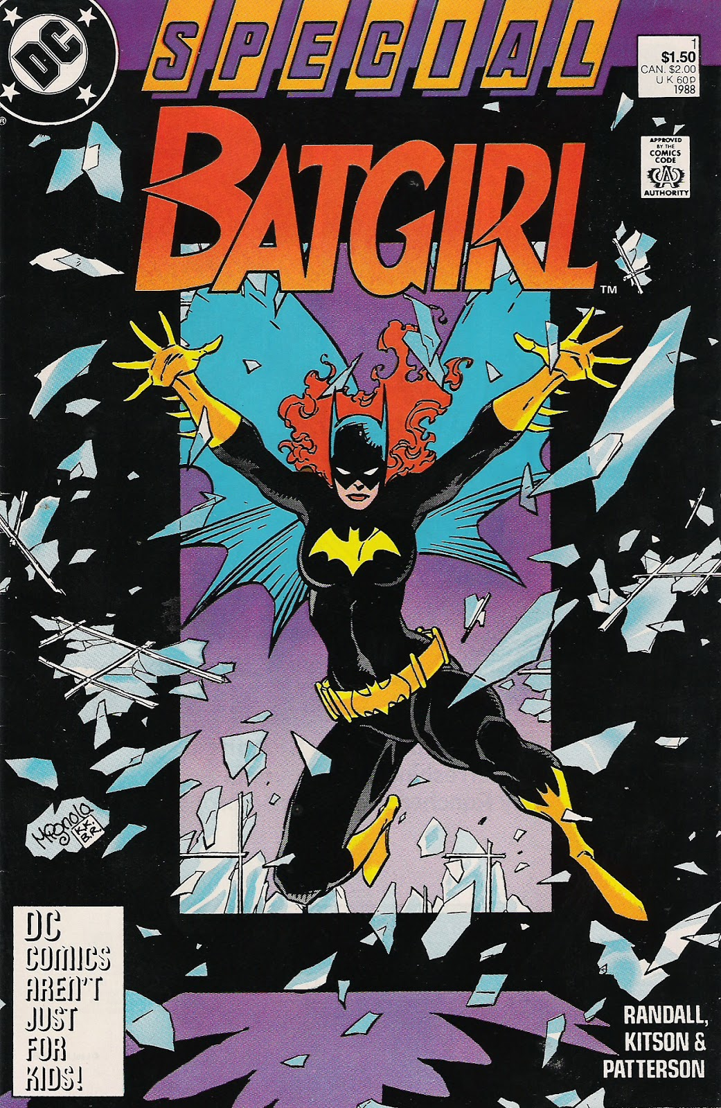 DC Comics of the 1980s: 1988 - Mignola's Batgirl Special
