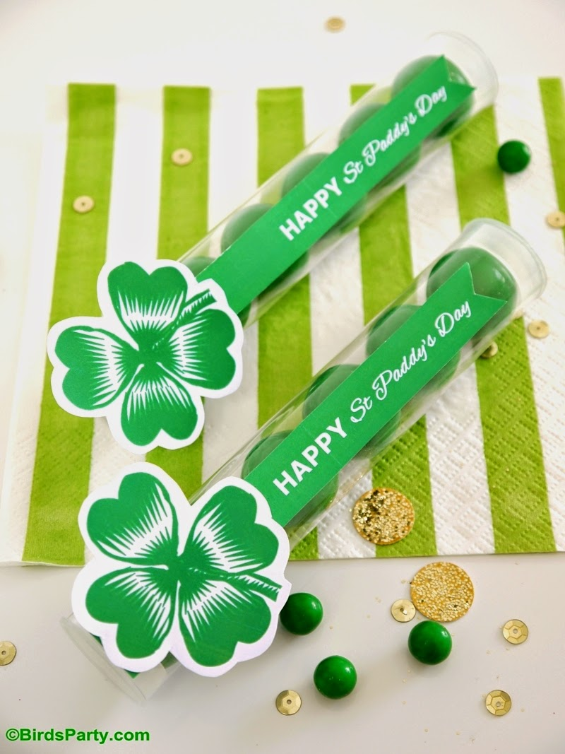 Lucky You: Printables FREEBIES pour la St Patrick