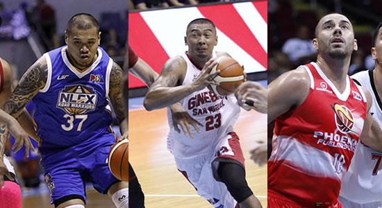 List: 16 PBA Centers who are listed at 6-foot-5 2018 PBA Philippine Cup