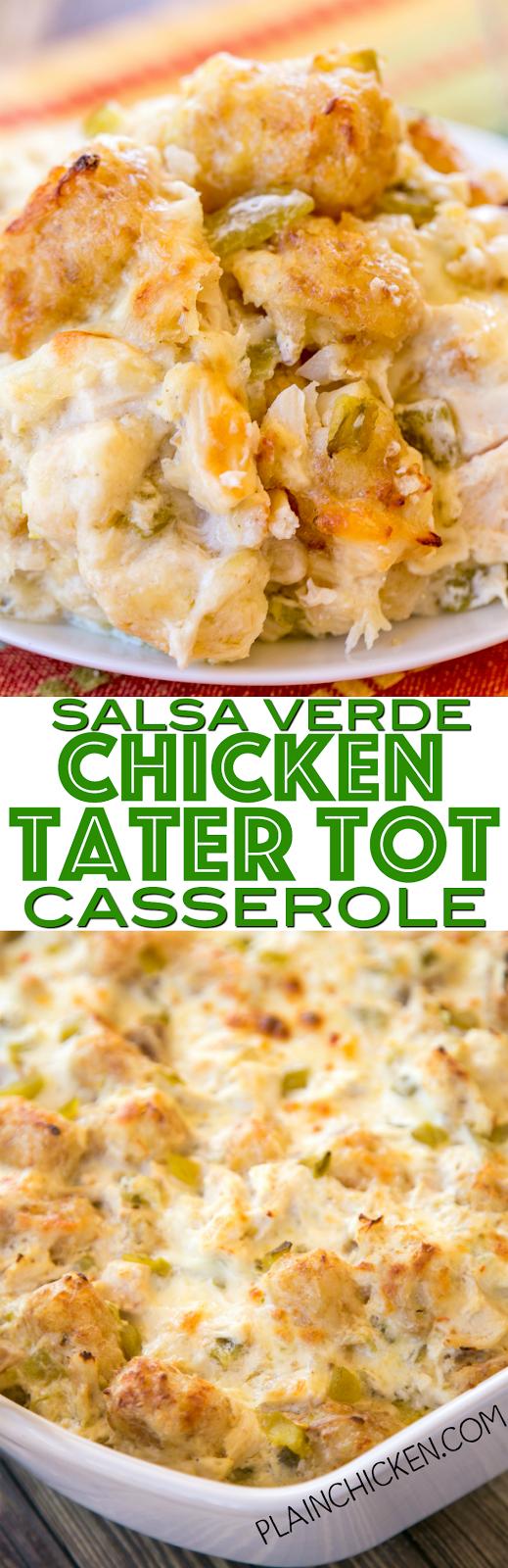 recipe: salsa verde chicken casserole [20]