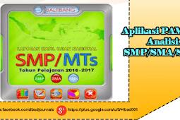 Aplikasi PAMER Analisis UN SMP/SMA/SMK
