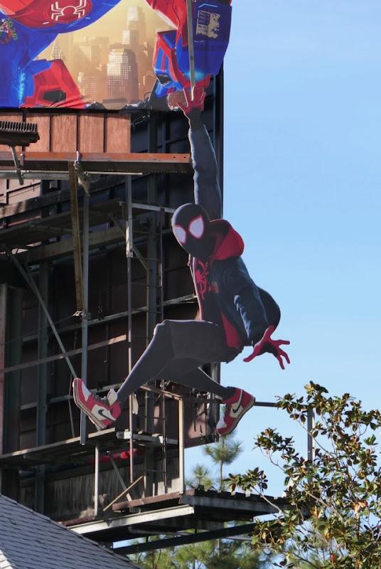 Miles Morales Spider-man Spider-verse billboard