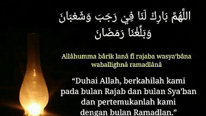 Do'a Anti Krisis di Jum'at Terakhir Bulan Rajab