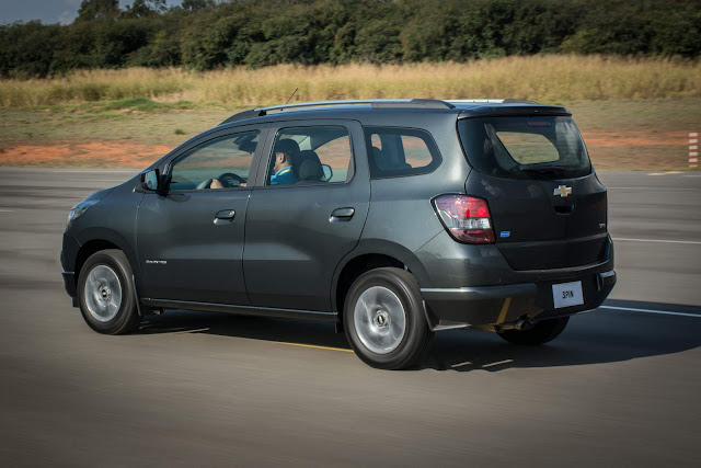 Chevrolet Spin 2013 a 2018 é chamada para recall - Brasil