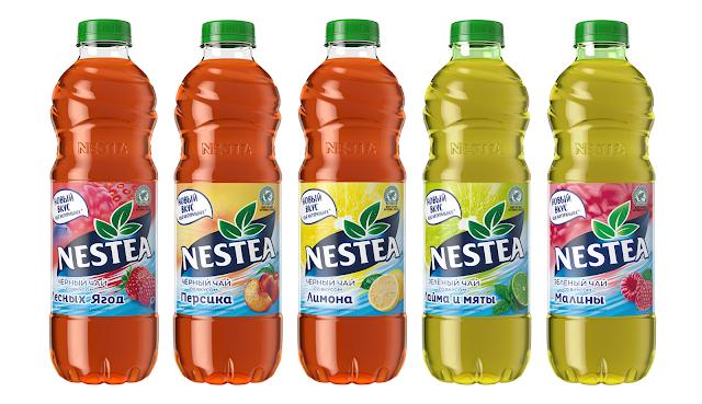 Обновленная линейка чая Nestea, Обновленная линейка чая Нести, Обновленная линейка чая Nestea состав цена стоимость пищевая ценность Россия 2018