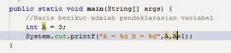 Fungsi Input/Output Dasar pada Java di NetBeans 2